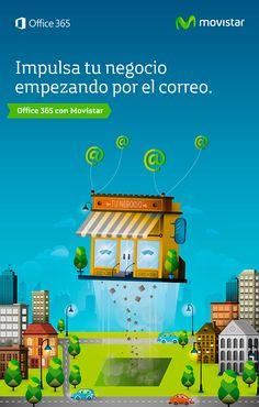 Realización de Ilustraciones corporativas para las campañas de Movilidad y Ofice 365 de Movistar, encargadas y dirigidas por la agencia DDB España.  http://raulgomez.es/portafolio/movistar-3/