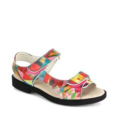 """LADIES GOLF FASHION    ICON -Country Club Trunk Shows. Featuring our popular BRAD sport shoe in Paul Klee """" Garden View"""" art. Interested in hosting an ICON Trunk Show at your Country Club? contact: marla@iconshoes.com"""