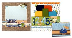 Birthday Boy Two-Page Layout & Card