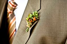 berries for buttonholes
