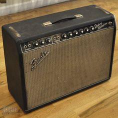 Fender Deluxe Reverb Blackface 1966 - Chicago Music Exchange