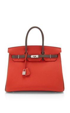 Hermes 35Cm Capucine And Etain Togo Leather Birkin by Heritage Auctions Special Collections for Preorder on Moda Operandi