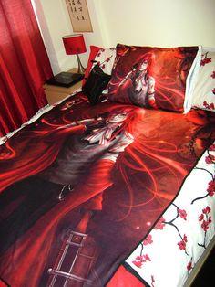Kuroshitsuji: Grell Sutcliff Art Blanket (large)