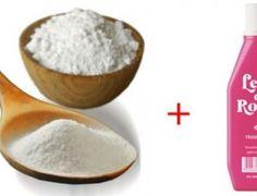 Clareando manchas com ; leite de rosas e bicarbonato de sódio - Receitas e Dicas Rápidas