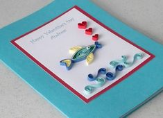 Paper Quilling Valentine Cards