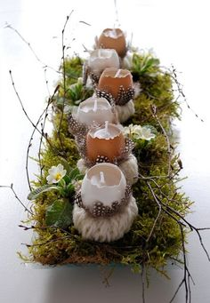 Easter decor. Beautiful ideas for the holiday (28) (398x576, 228Kb)