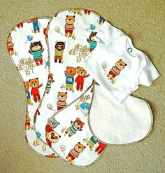 Burp Rag Pattern....an updated tutorial (now with printable pattern!) - Stop staring and start sewing!