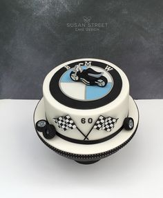 60th Birthday Cake for a Motorbike fanatic