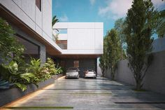 Contemporary House Design | By SR Design Work – 4 Kanal House , Cavalary Ground -Lahore Online Architecture, Architecture Design, Conceptual Sketches, Elevator Design, Villa Plan, City Farm, Design Firms, Facade, House Plans