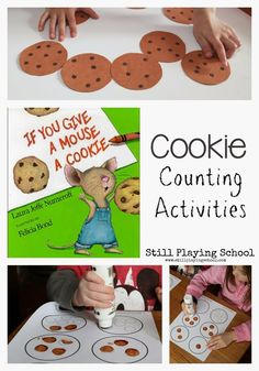 Toddler Approved!: If You Give a Mouse a CookIe Crafts and Activities
