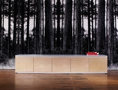 Koskela modern credenza sideboard...could be used for a hotel lobby reception desk