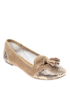 Chaussures Ballerines MELINE - couleur MARRON - matiere Autre