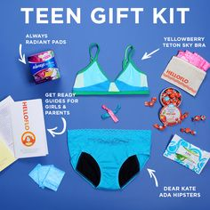 Teen Gift Kit! Such amazing products and content. This kit is perfect for your gal.