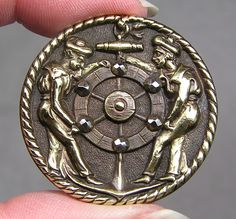 Brass Picture Button French Sailors Metal | eBay, $59.99