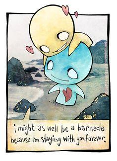Pon and Zi - barnacle