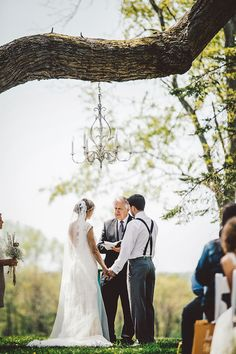 Hidden Vineyard Wedding Barn :: Ceremony Tree