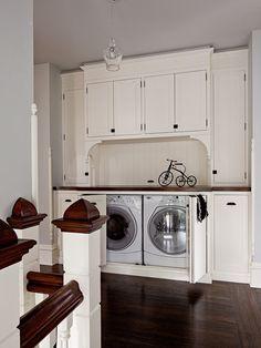 Turn Of The Century Modern, Contemporary Laundry Room, Portland