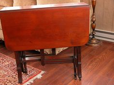 Drop Leaf Table, Furniture Companies, Old Things, Antiques, Etsy, Decorating, Vintage, Google Search, Awesome