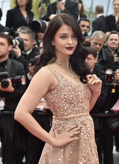 "Aishwarya Rai attends the premiere of ""The BFG"" (""Le Bon Gros Geant – Le BGG"") during the 2016 Cannes International Film Festival at the Palais des Festivals in Cannes, France."