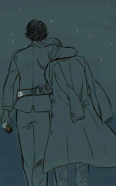 This is all I want for JohnLock, that level of companionship that an old married couple attains. And ParentLock