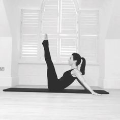 Definitely one of the most challenging exercises for many, for its important to keep and strong and down to keep square and lift need strong and Pilates Reformer, Pilates Workout, Pelvic Floor, Inner Thigh, Fit Women, Abs, Strong, Yoga, Exercises