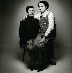 © Sieff-1975. Coluche et Jean Rochefort
