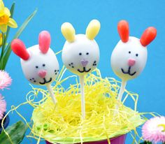 Ostern Cake Pops Hase