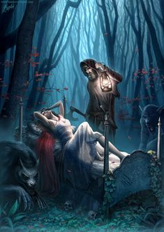 One more Little Red Riding Hood by DusanMarkovic.deviantart.com