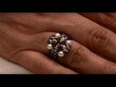 """Videoanleitung für den """"Egyptian Nights Ring"""" vo Marie (Beadsandbeyond Beadig Channel) auf YouTube"""