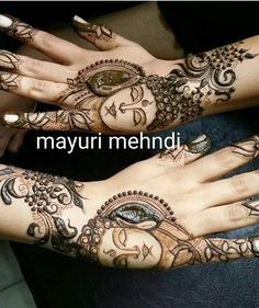 Lord buddha mehandi Arabic Bridal Mehndi Designs, Modern Mehndi Designs, Dulhan Mehndi Designs, Mehndi Design Pictures, Beautiful Henna Designs, Latest Mehndi Designs, Mehndi Tattoo, Henna Mehndi, Mehendi