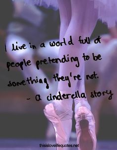 Inspired by the Cinderella life!-!