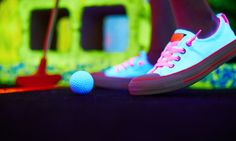 Opry Glowgolf - Glowgolf at Paradise Valley Mall: Three Rounds of Indoor Mini…