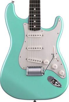 Surf green Fender strat- my dream guitar.