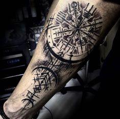 Viking Tattoo Sleeve, Viking Tattoo Symbol, Norse Tattoo, Viking Tattoos, Tattoo Life, Zen Tattoo, Hand Tattoos, Sleeve Tattoos, Armour Tattoo