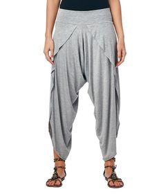 Look what I found on #zulily! Heather Gray Harem Pants by Popana #zulilyfinds