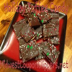 Holiday Toffee Candy