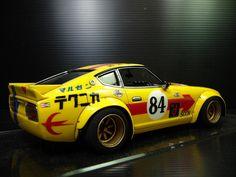 Datsun 240Z S30 - Fairlady race car Love #Drifting Check out #DriftSaturday at www.Rvinyl.com every #Saturday!
