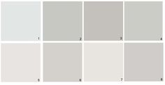 1000 images about grey paint on pinterest benjamin for American white benjamin moore