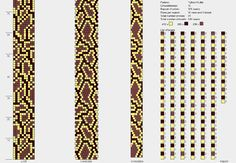 Bead crochet pattern, 10 around