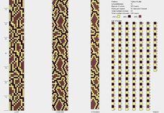 Bead crochet pattern, 10 around