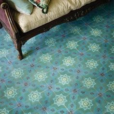 Carmelo - Valletta Encaustic - Wall & Floor Tiles | Fired Earth | £224.70 psm