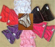 12 er Paket Damen Bikini Panties Hipster Unterwäsche Pants Sips Hotpants Baumw.
