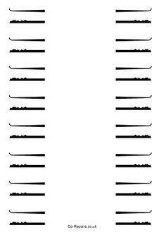 Lock Pick Rake Template Lock Pick Templates Get Your Own Lock Picks Here From