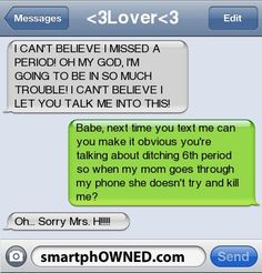The Web Babbler: Funny Texts #11