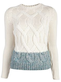 CARVEN Cable Knit Pullover