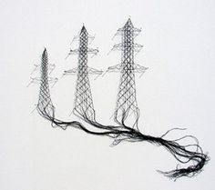 This is thread art!!