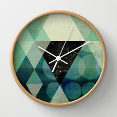 GEOMETRIC 003 Wall Clock