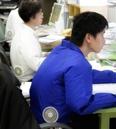 Japanese Invent A Jacket With Air-Conditioner