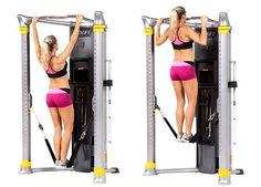Ejercicio de #EntrenamientoFuncional con la Mi6 de Hoist para fortalecer brazos. Gym Workout Tips, Workout Rooms, No Equipment Workout, Commercial Fitness Equipment, Fitness Bodybuilding, Diy Home Gym, Gym Machines, Gym Room, Body Training