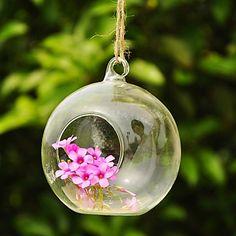 bola de arte en forma de colgantes de cristal del florero – USD $ 4.99